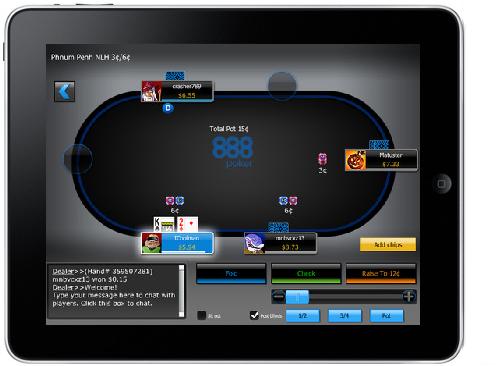 #poker 888poker iPad App