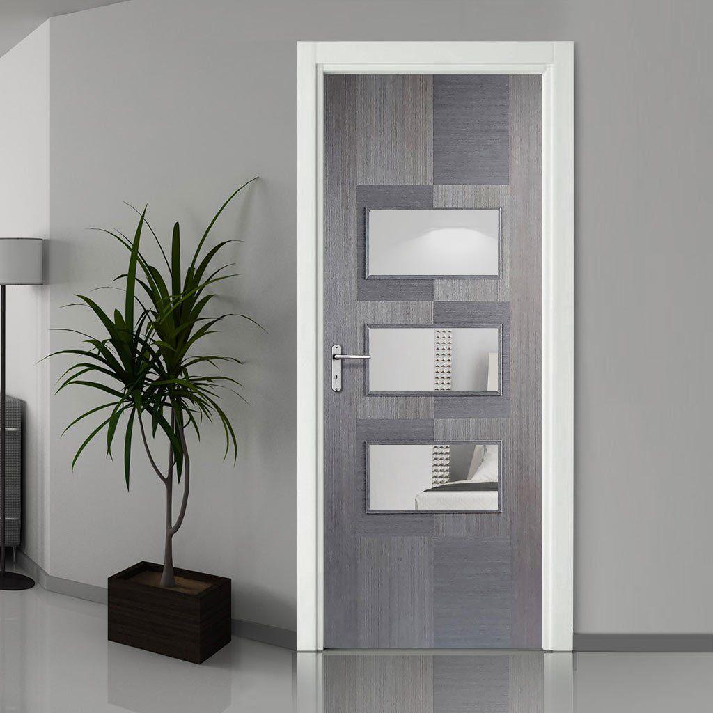 Contemporaryinterior Design Ideas: Bespoke Apollo Chocolate Grey 3L Door