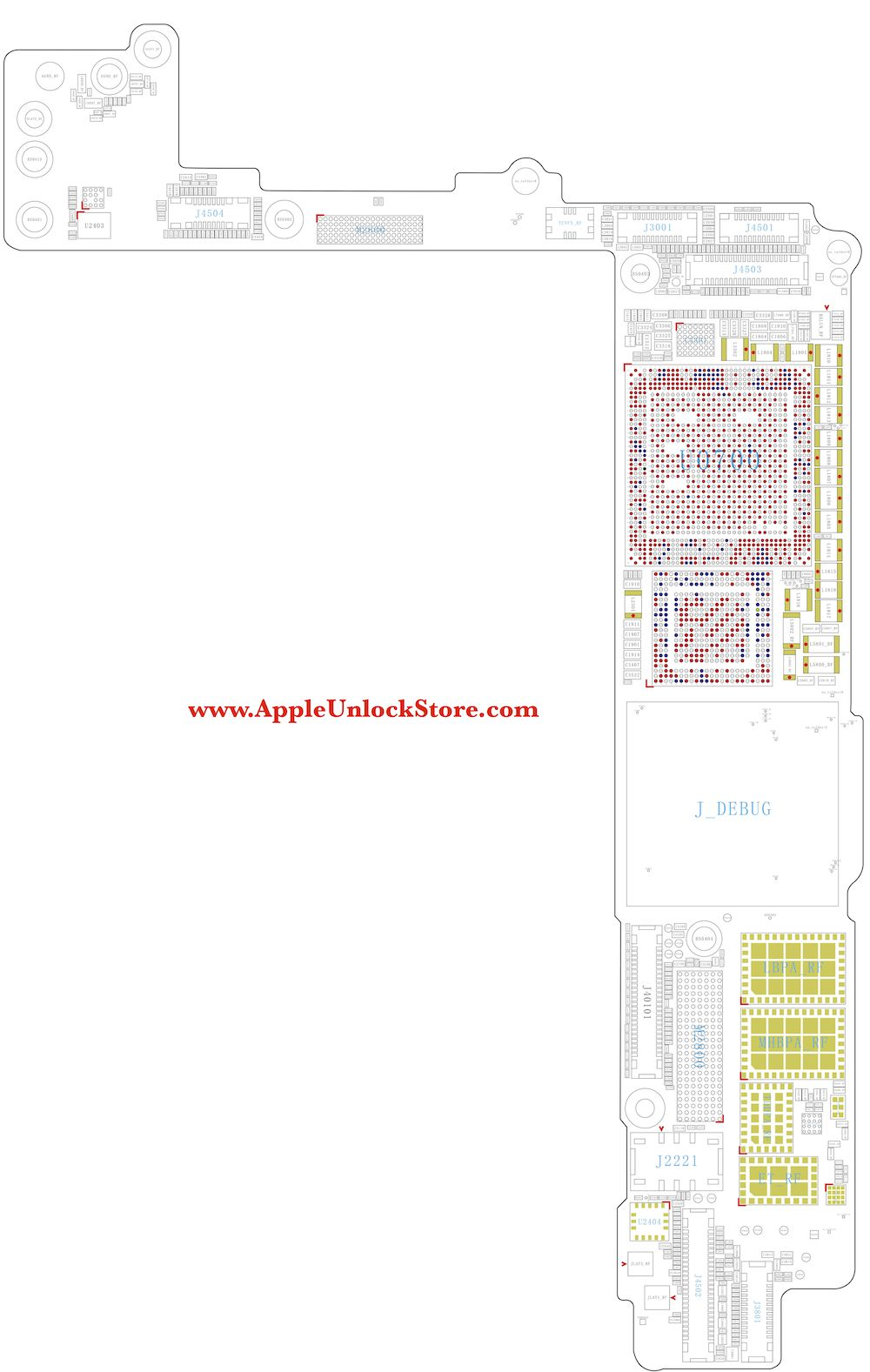 service manuals iphone 7 plus circuit diagram service manual schematic  [ 1000 x 1577 Pixel ]