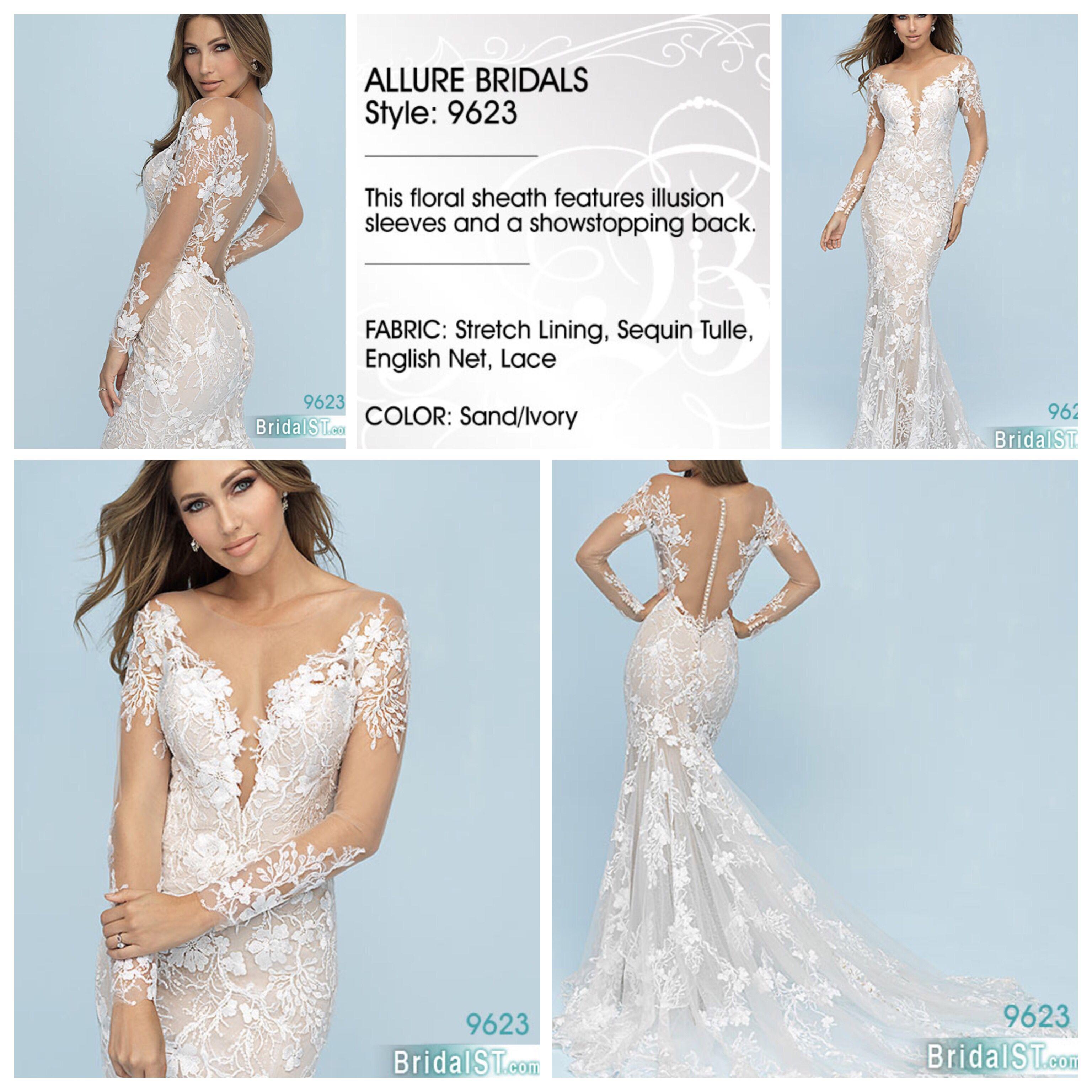 Allure Bridal 9623 Bridal And Special Times Allure Bridal Bridal Wedding Dresses Lace