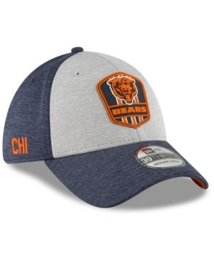 509dea37f9c New Era Boys  Chicago Bears Official Sideline Road 39THIRTY Stretch Fitted  Cap - Blue Toddler