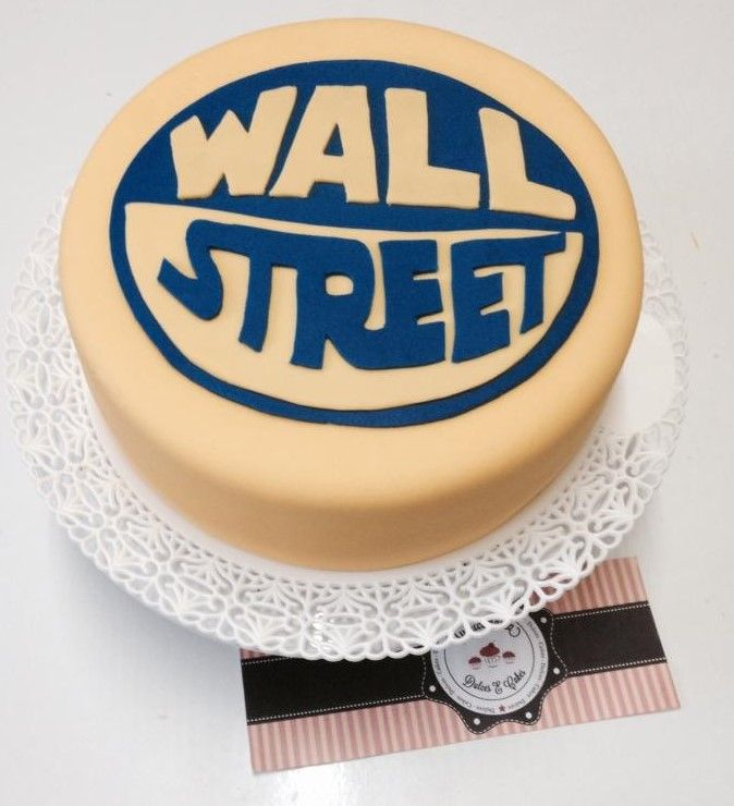 BOLO TIME WALL STREET - TORTA FUTEBOL WALL STREET - FUTEBOL CAKE
