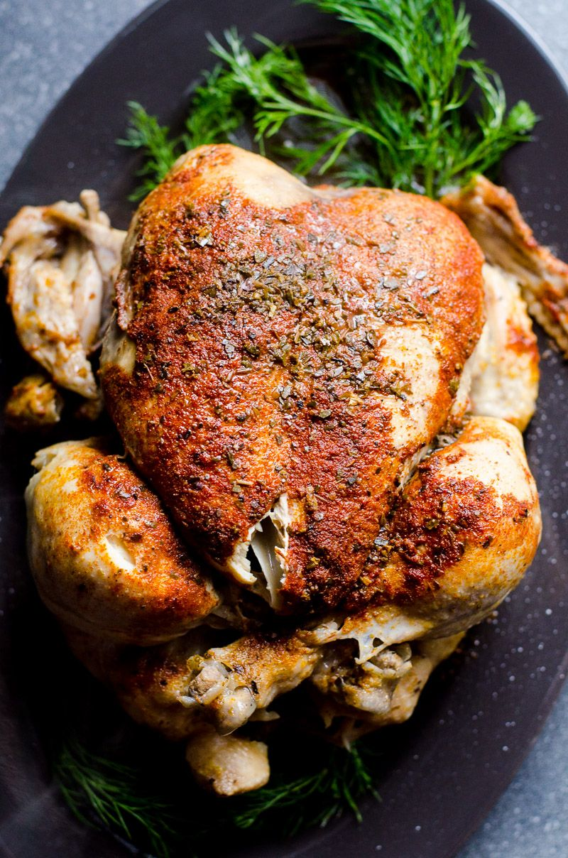 Instant Pot Frozen Chicken Recipe Or How To Cook Juicy And Flavourful Whole Frozen Chicken In