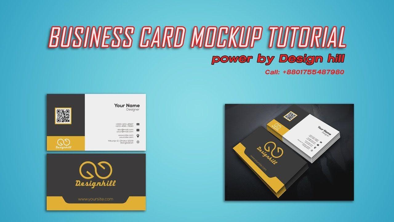 Business card mock up tutorial 2018 design hill monoranjon ray business card mock up tutorial 2018 design hill monoranjon ray reheart Images
