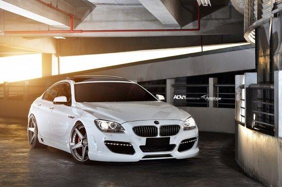 BMW 640 Gran Coupe On ADV5 Track Spec SL's