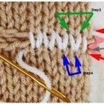 Photo of Strumpfbandnähte unsichtbar Anleitungen mit Fotos verbinden | Strick- & Häkelanleitungen,…