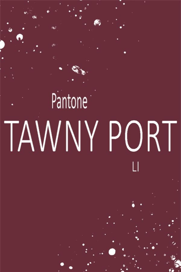 Pin By Color Palette Thyme On Tawny Port Pantone Pantone 2017 Colour Pantone 2017