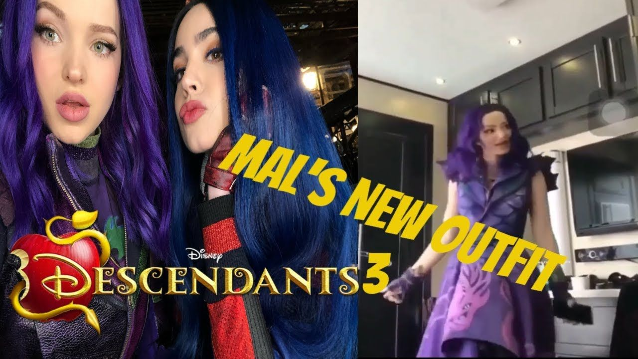 Descendants 3 - (Spoiler) Mal's New Outfit and Funny Cast