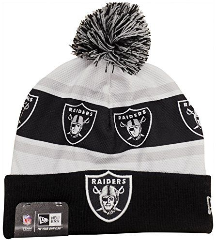 Oakland Raiders Pom Hat  9a65f667de3