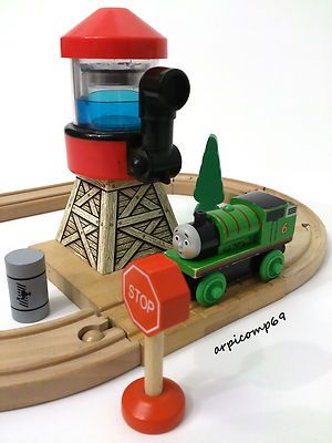 WATER TOWER & TRACK SET - BRIO / ELC / THOMAS THE TANK Wooden Train ...