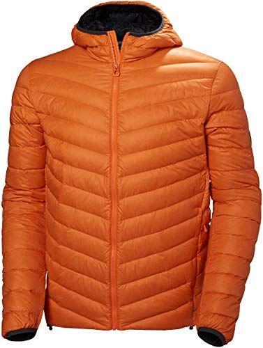 Photo of Enjoy exclusive for Helly Hansen Men's Verglas Lightweight Hooded Breathable Hybrid Insulator Jacket, 282 Blaze Orange, Large online – Newtoprated