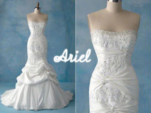 Disney inspired wedding dresses \