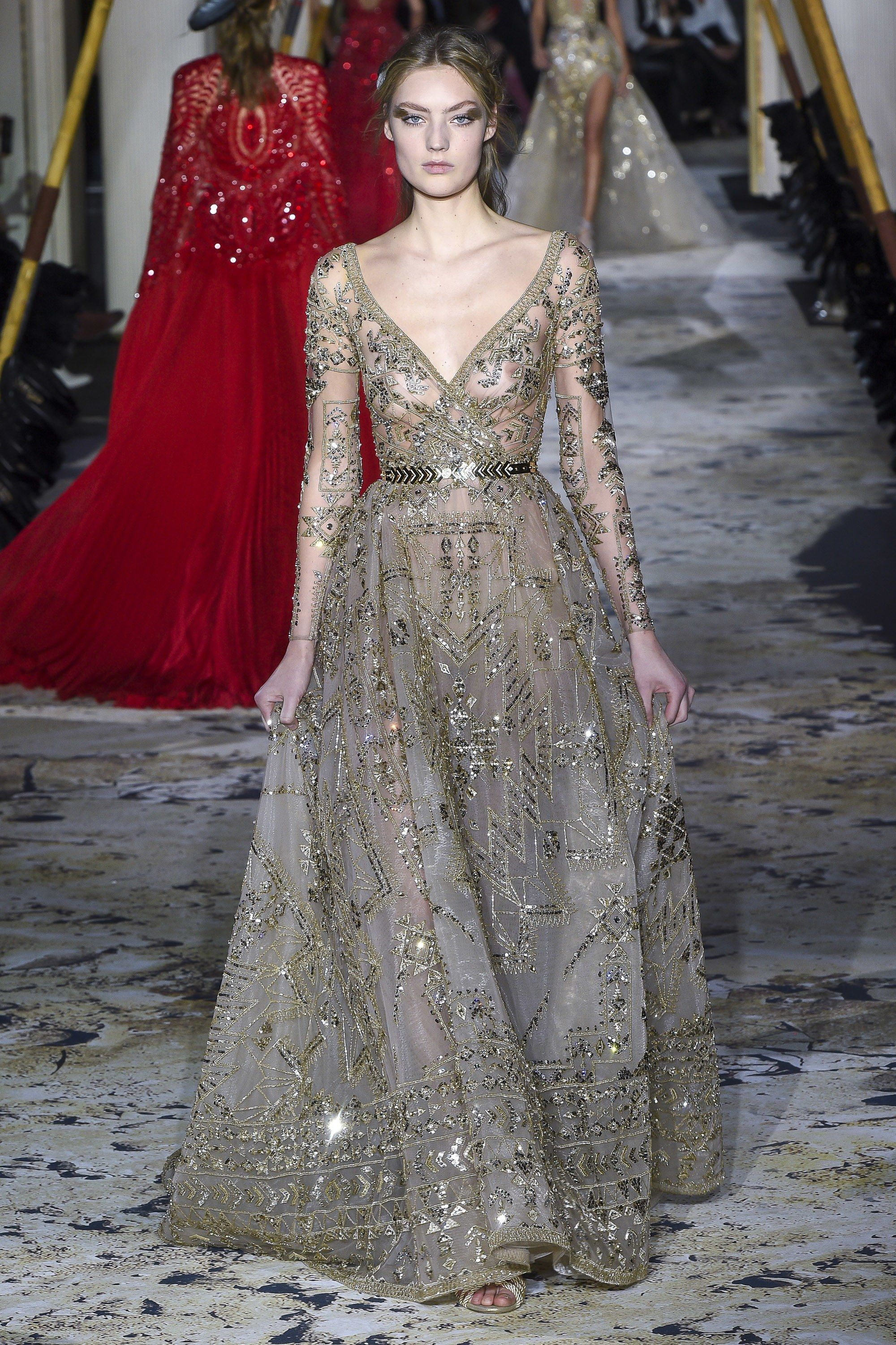 e33e4923ef1 Zuhair Murad Spring 2018 Couture Collection - Vogue