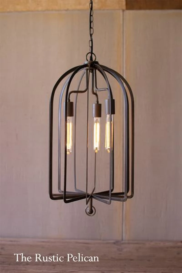 Farmhouse Iron Pendant Light Dome Pendant Lighting
