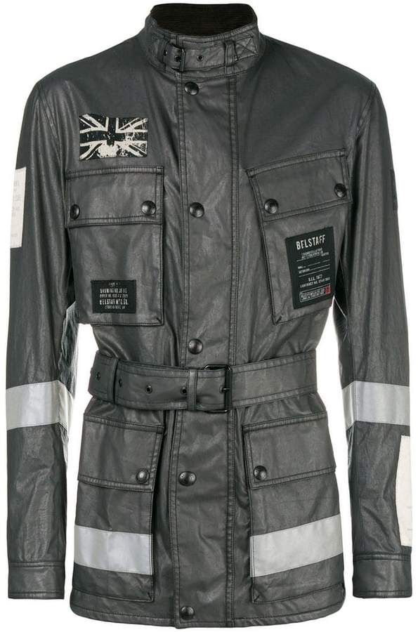 f5df10879507b Belstaff belted jacket Belstaff Jackets, Gray Jacket, Man Boots, Military  Jacket, Mens