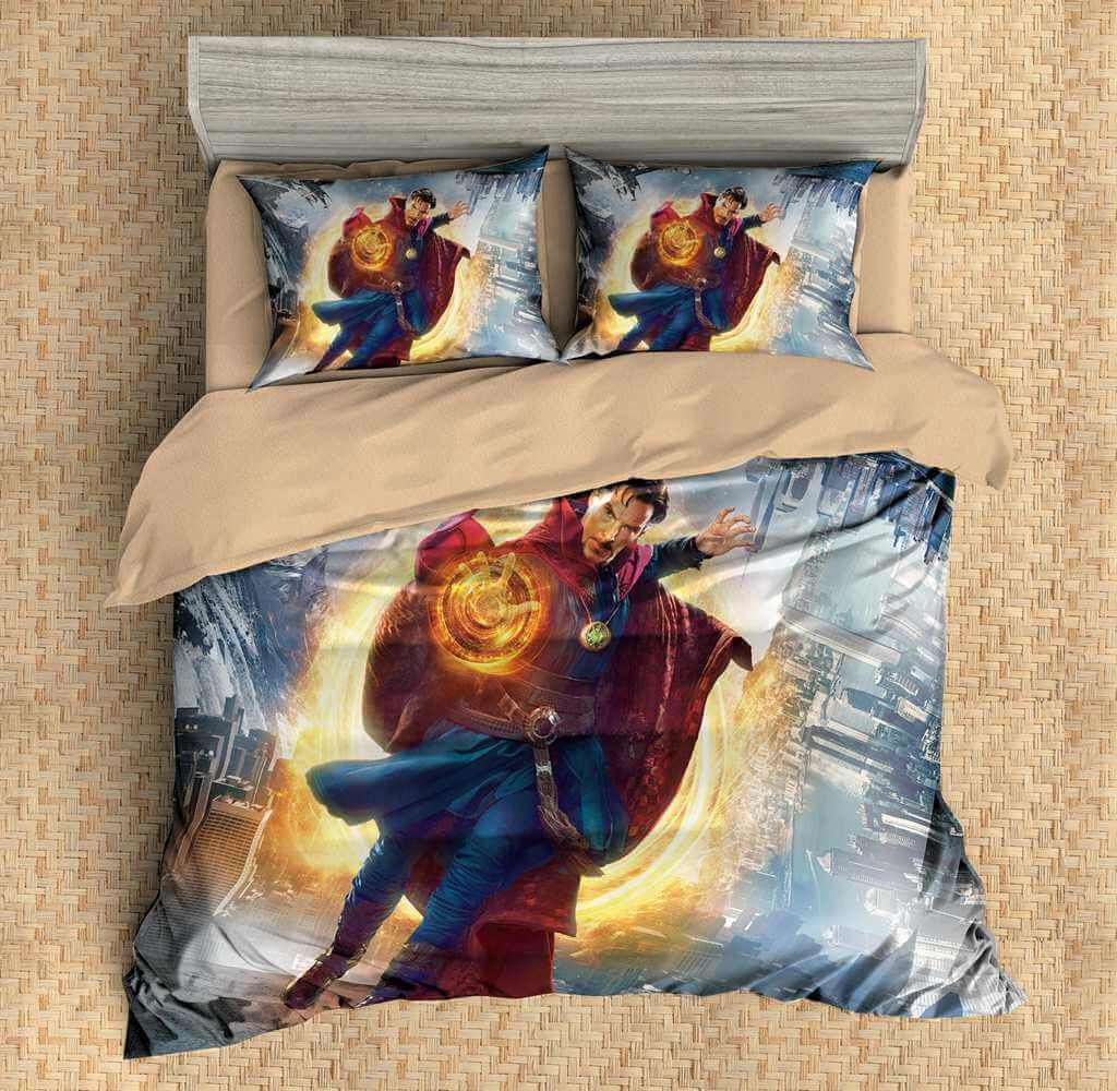 Customize Doctor Strange Duvet Cover Set Bedding Set Bedroom Set Sheet Pillowcase Duvet Cover Sets Bedding Set Duvet Covers