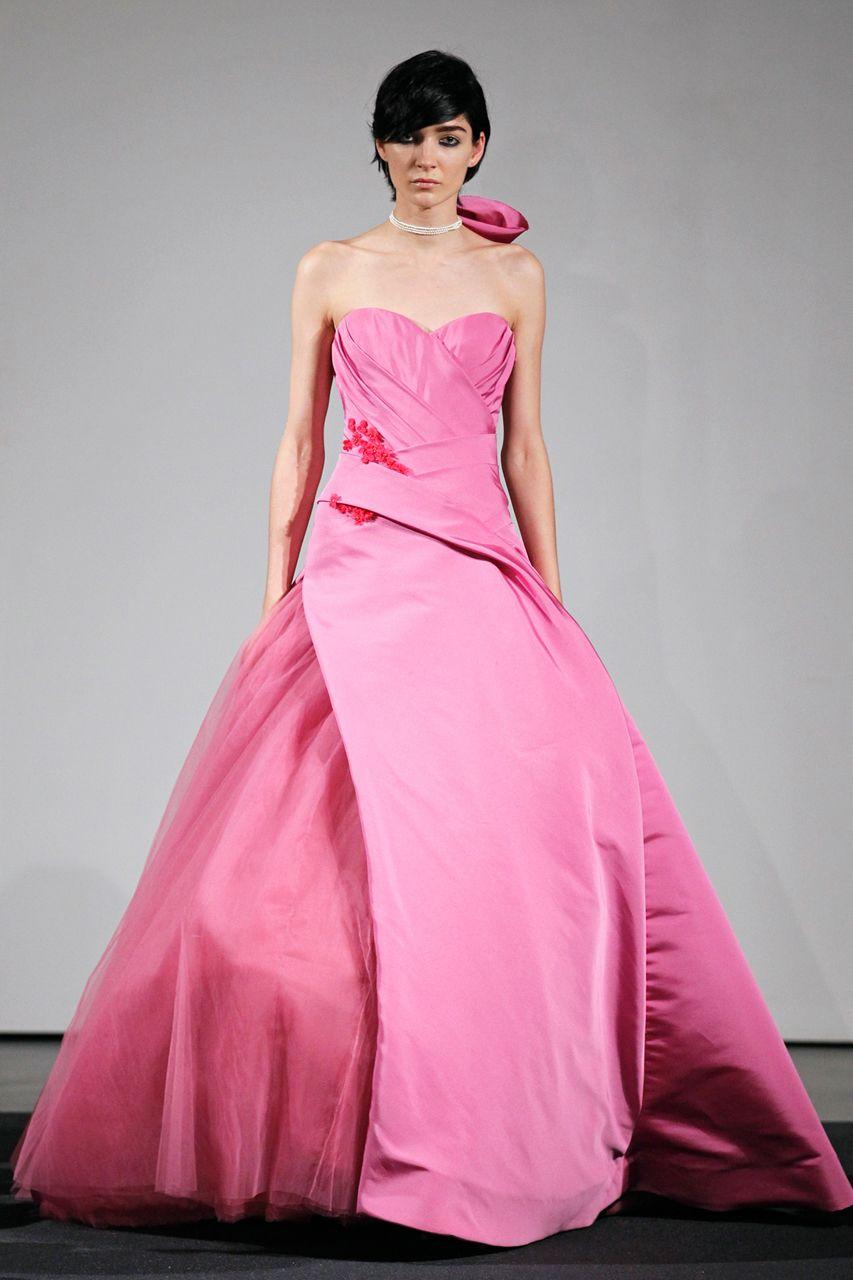 Hermosa Vera Wang Coste Vestido De Novia Colección de Imágenes ...