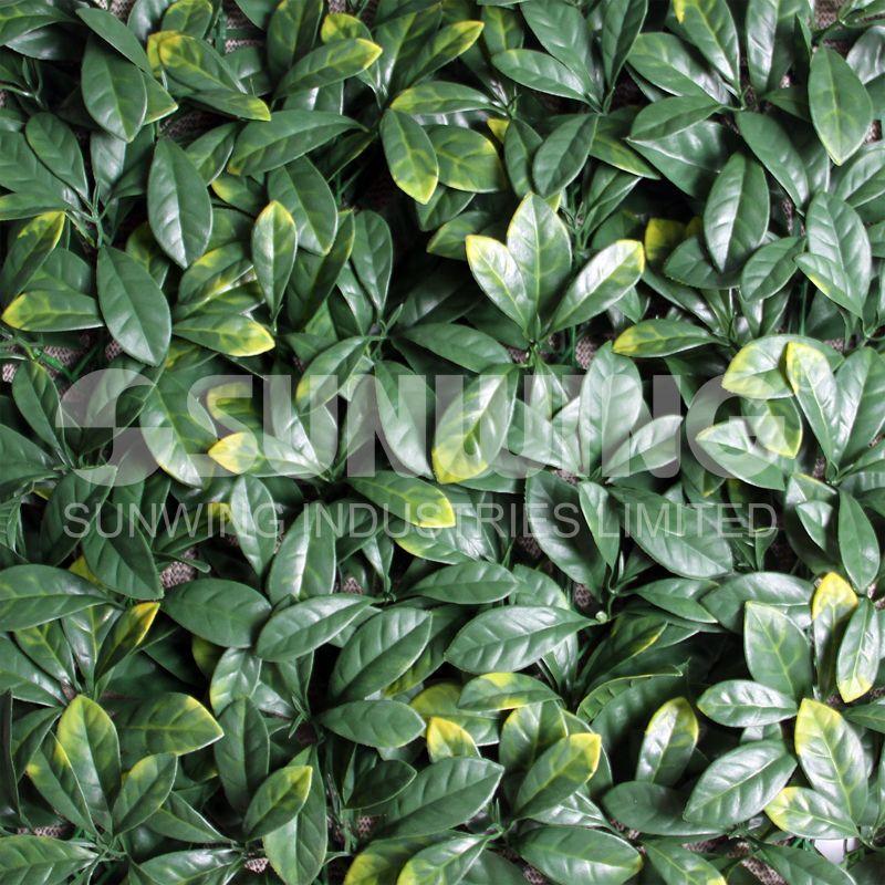 Artificial Hedge Fake Leaves Diy Garden Diy Garden