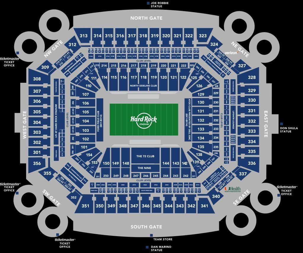 8f1f31dd8aeb362a9bcbdd3880863cd5 - Hard Rock Stadium Miami Gardens Seating Chart