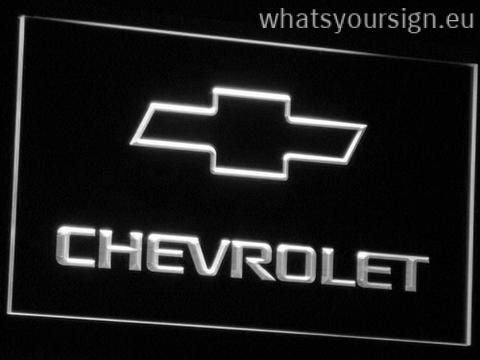 Chevrolet Led Neon Sign Light Display Made Of The Premium Quality Transparent Plastic And Intense Colorful Led Lighting The N Led Neon Signs Neon Light Signs