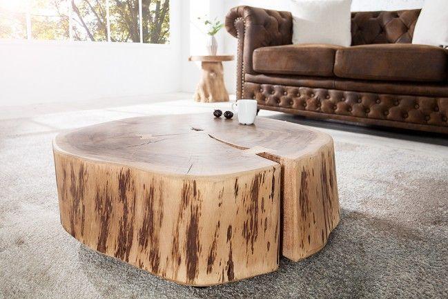 Wohnzimmertisch GOA Aus Massivholz Jeder Tisch Ein Unikat Naturprodukt In Weiteren Ausfhrungen