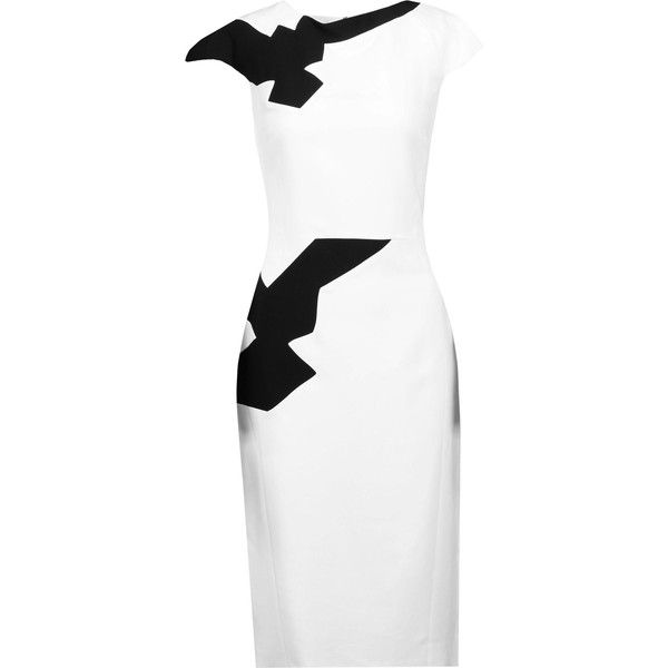 Tones of white colour dress
