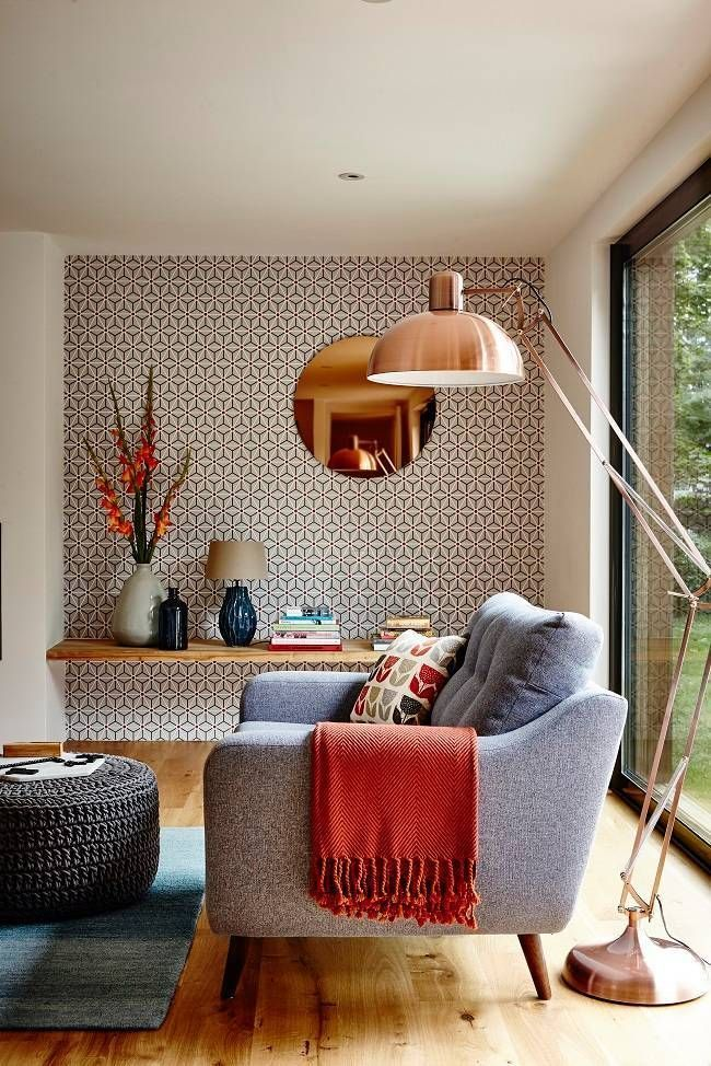 35 Amazing Wallpaper Ideas For The Living Room | Inspiration, Living Rooms  And Wallpaper Ideas