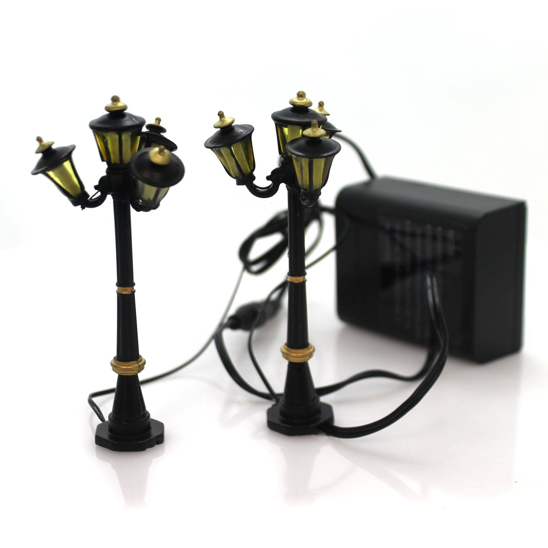 Department 56 Accessory Victorian Street Lamps Polyresin