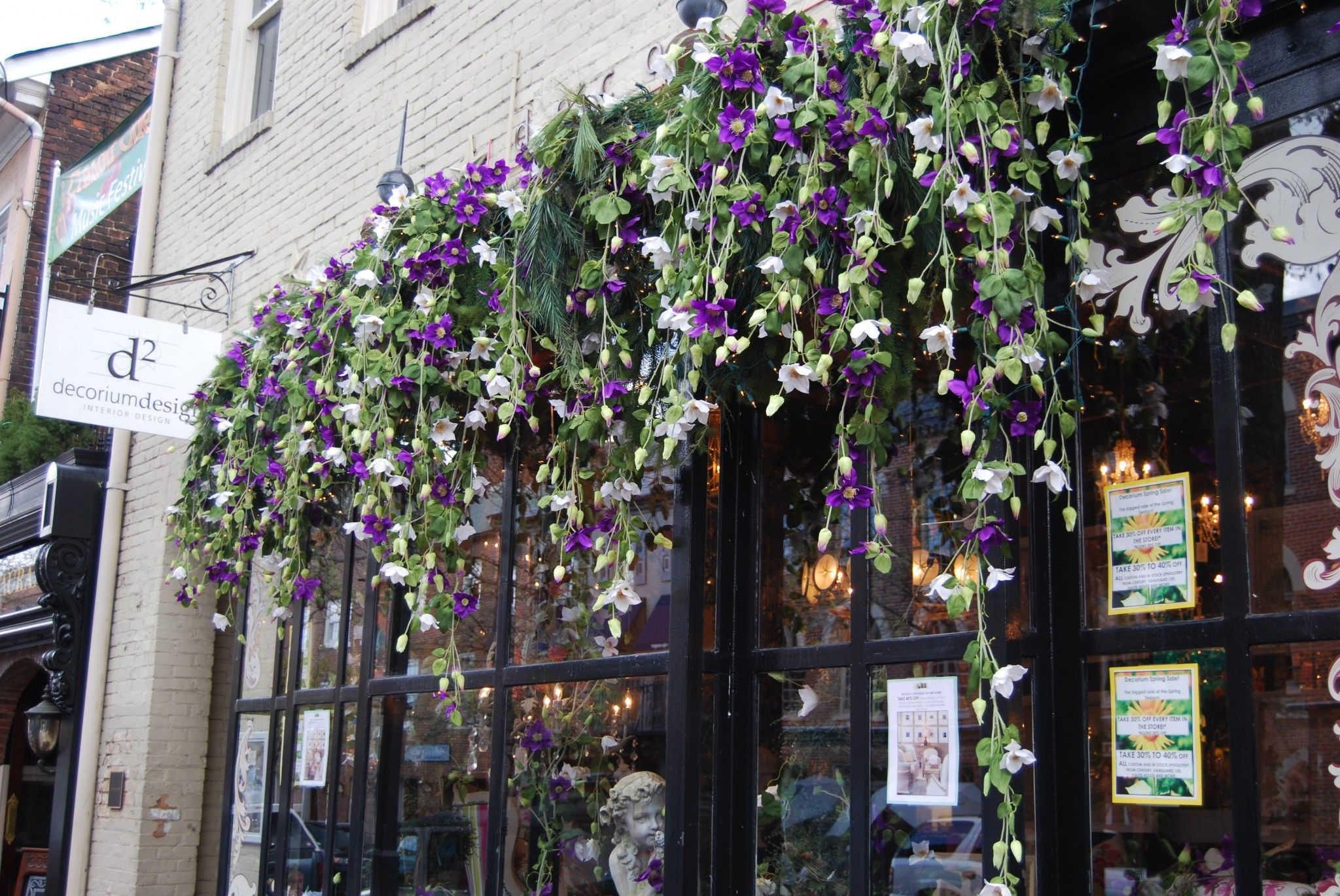 flowers Design, Old town alexandria, Architecture design