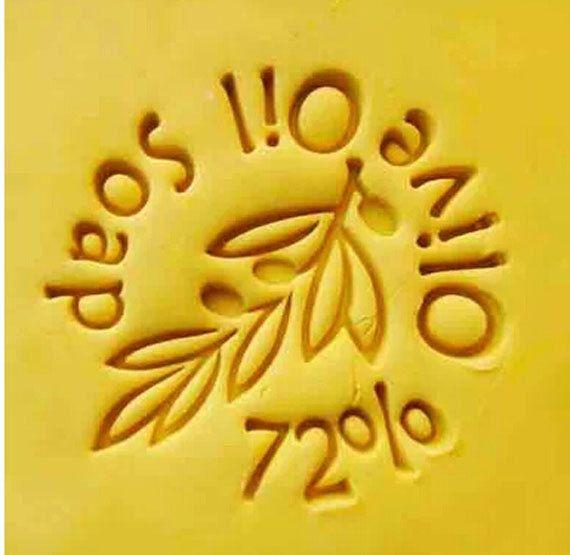 72% Olive Oil Soap Resin Seal Soap Stamp Handmade Soap Crafts DIY Chapter Soap