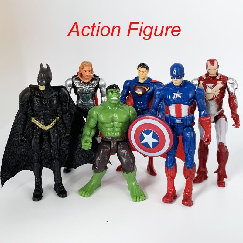 One Piece Super Héros Avengers Issue Iron Man Hulk Captain America Superman