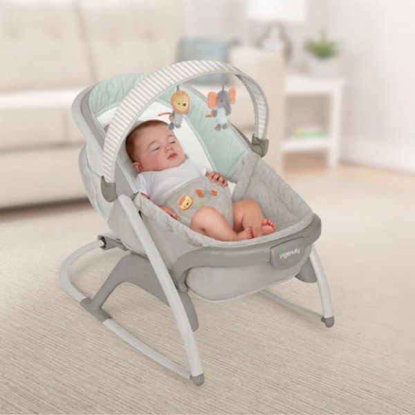 Ingenuity Convertme Rock N Lounge Bouncer Baby Rocker Chair Rocker Chairs Baby Rocker