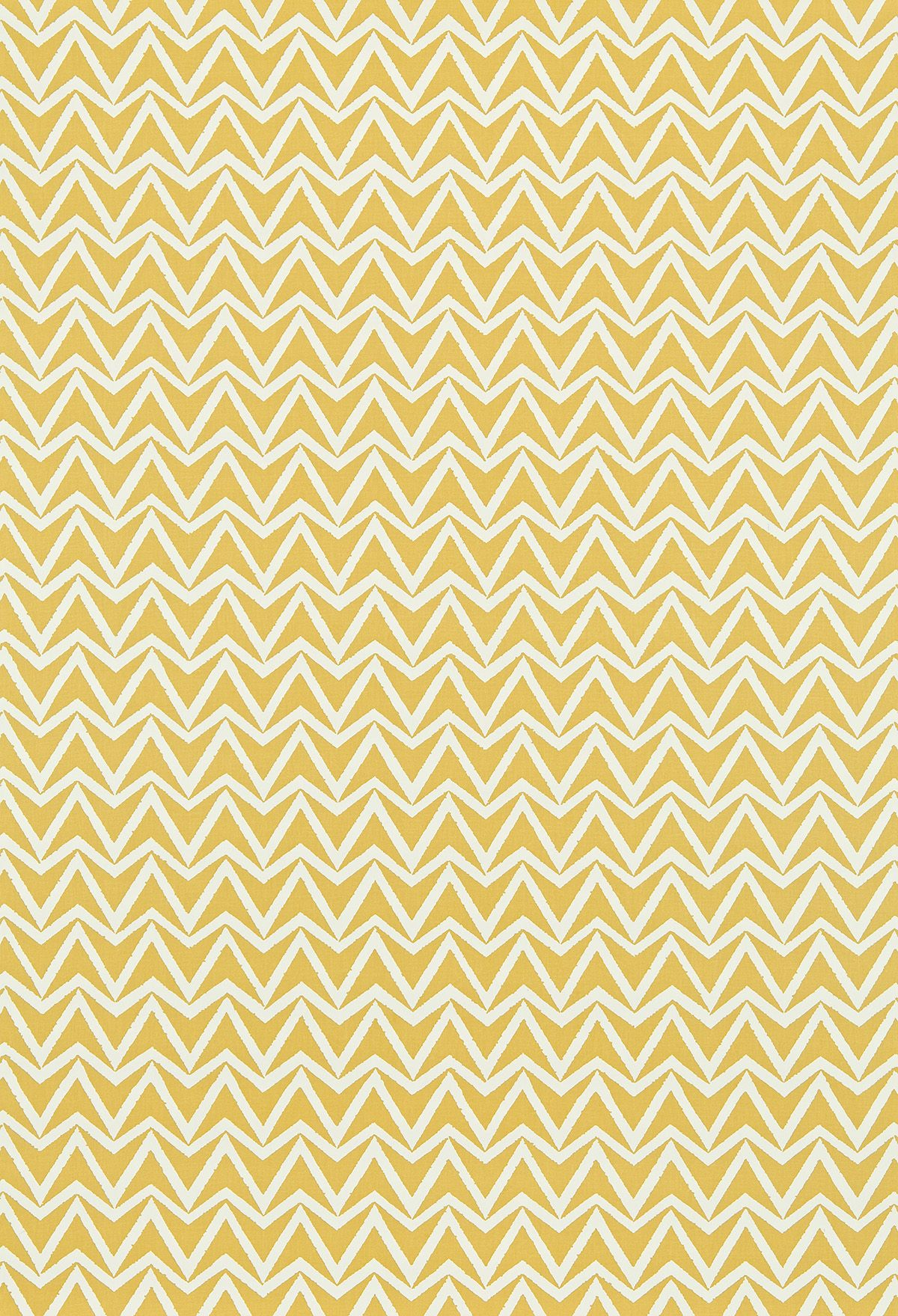 Dhurrie Scion Yellow Fabric Wallpaper Direct