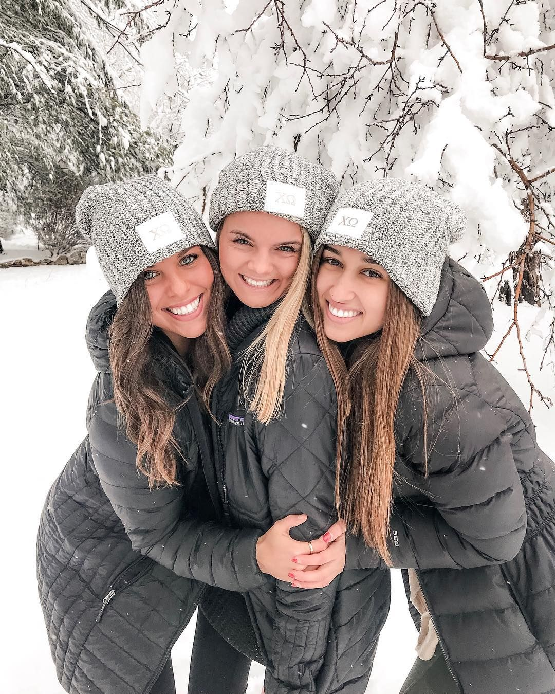 """Mizzou Chi Omega on Instagram: """"lookin back at this *snowy* wknd already ❄️☃️❄️ butttt it's a good week to have a good week, so knock 'em dead sisters!"""""""