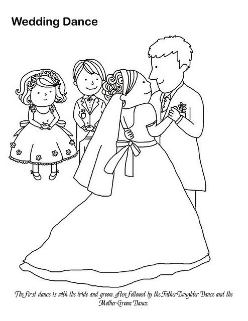 Wedding Dance Coloring Page Wedding Coloring Pages Dance Coloring Pages American Wedding