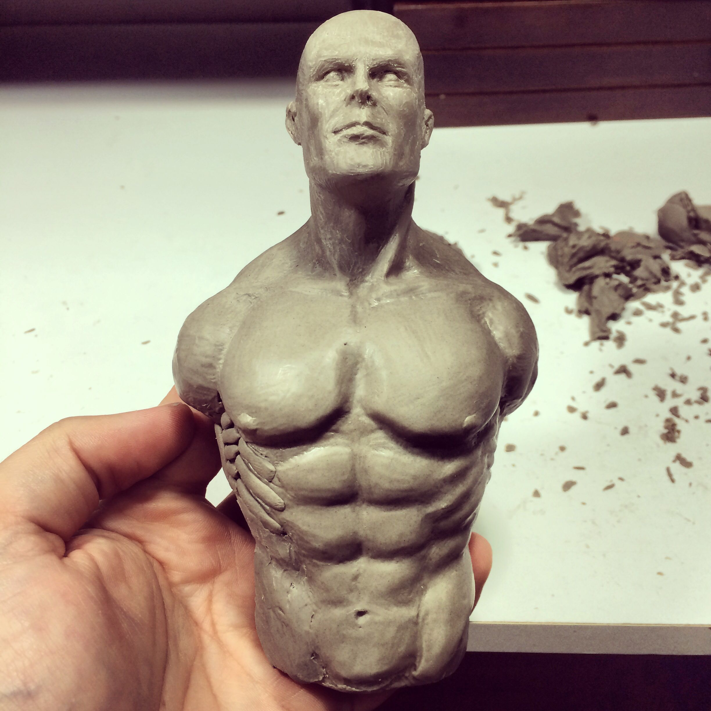 Estudo anatomia masculina   Modelagem   Pinterest   Clay and Artwork