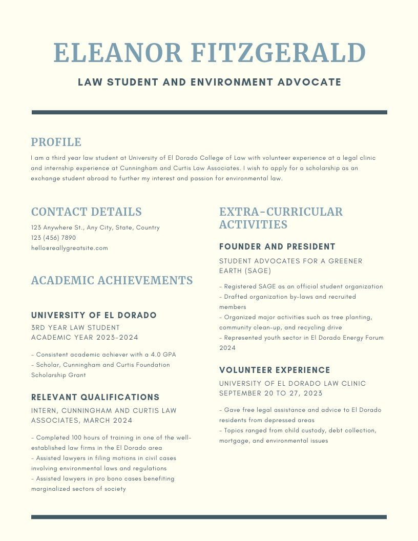 Resume formats for 10 different industries Infographic