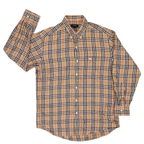 cba0620f Burberry Burberrys Nova Check Pattern Button Down Shirt Size M Size m -  Shirts (Button Ups) for Sale - Grailed