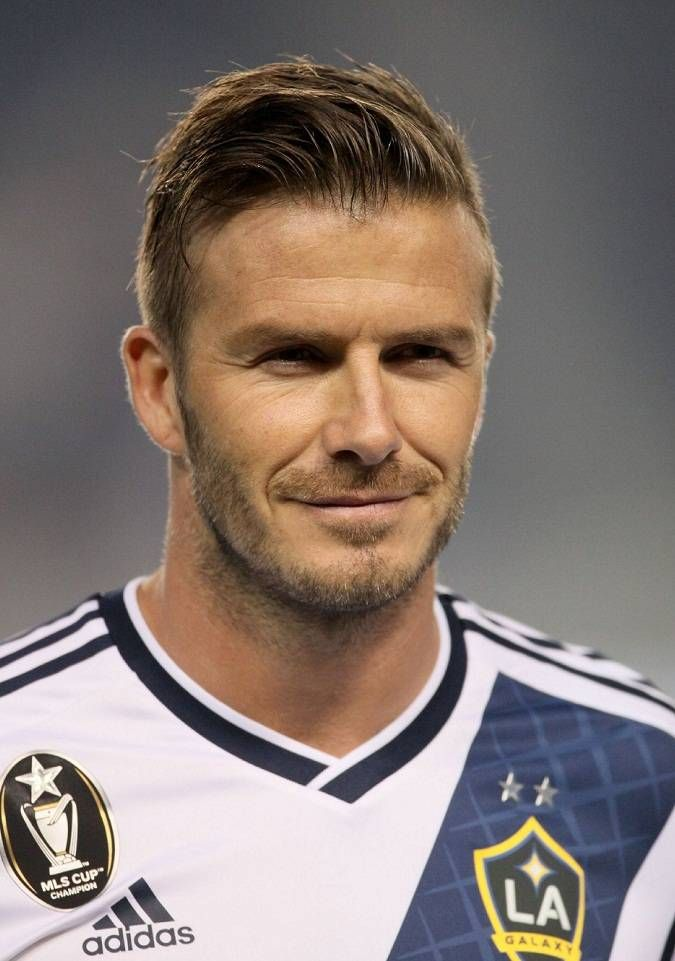 Men's haircuts- David beckham look