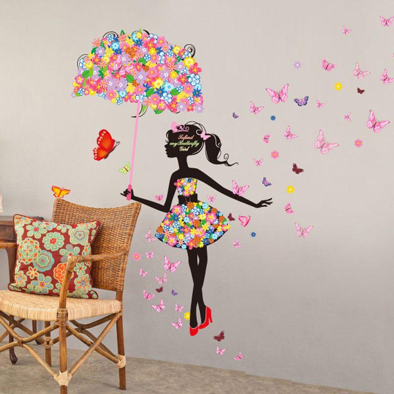 Murales De Paisajes En Decoracion Mariposas Buscar Con Google