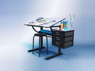 Delicieux An Artistu0027s Dream Loft Drafting Table