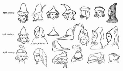 Medieval men s hats  11199487a52