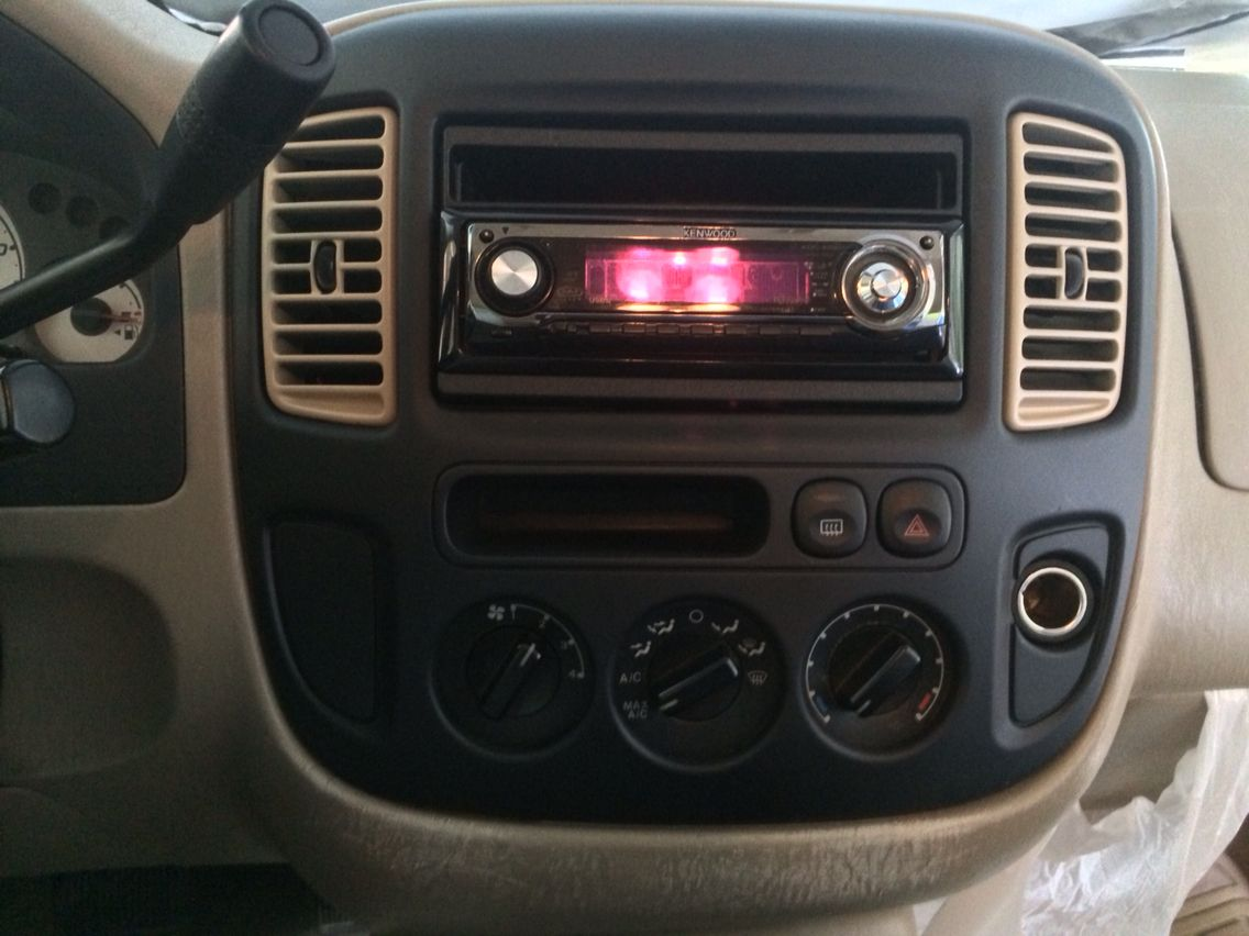 Ongoing Custom Project 2004 Ford Escape Xlt Ford Escape Xlt