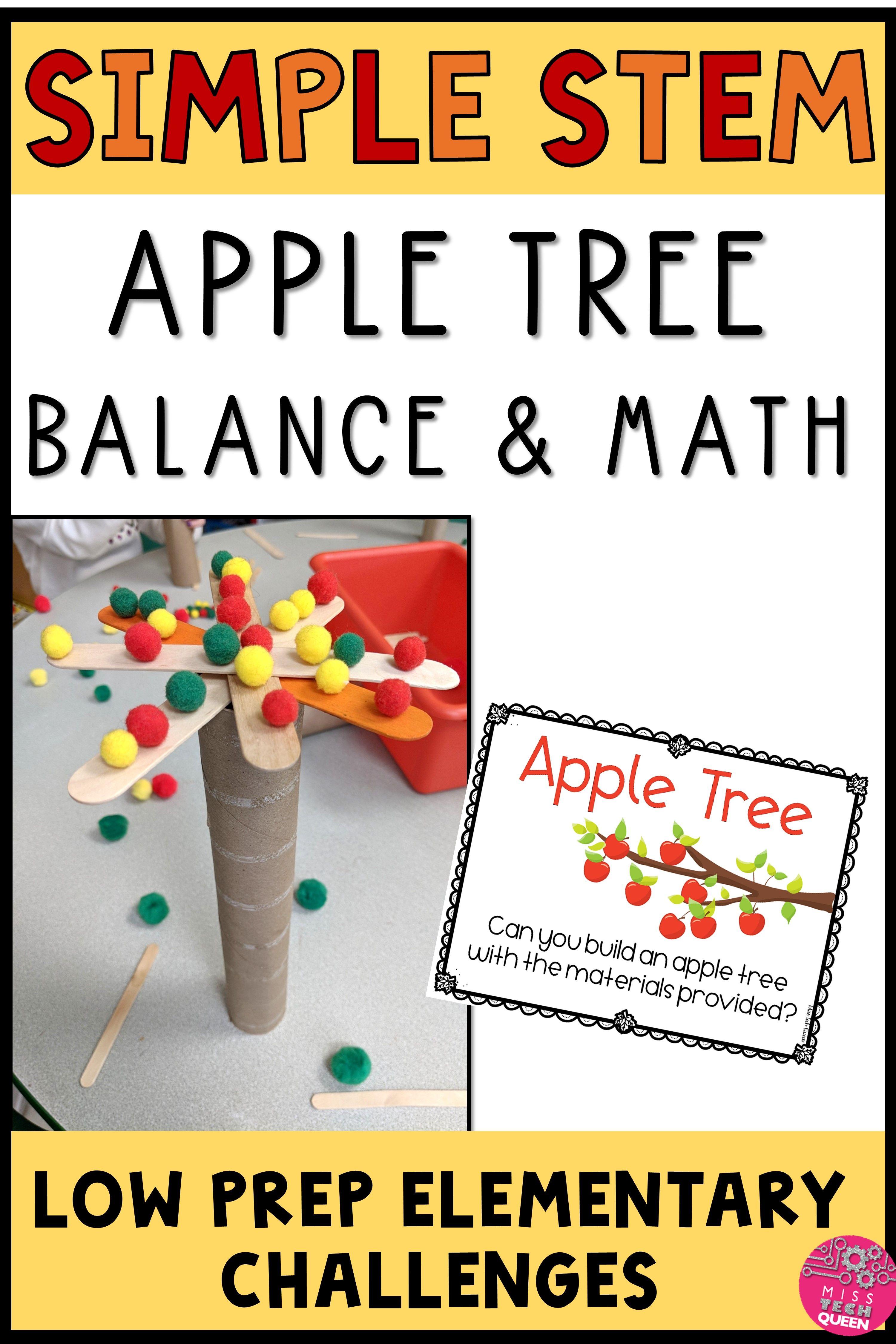 Math Activities For Fall Fall Stem Fall Stem Activities Stem Task Cards