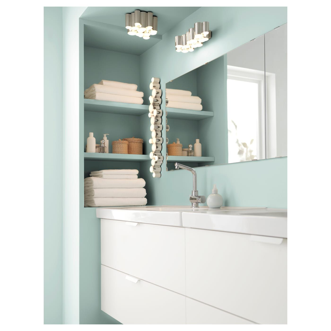 US Furniture and Home Furnishings Ikea badezimmer