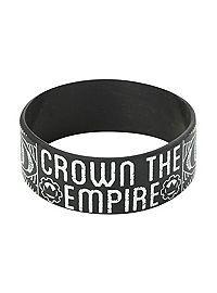 Com Crown The Empire Sketch Rubber Bracelet