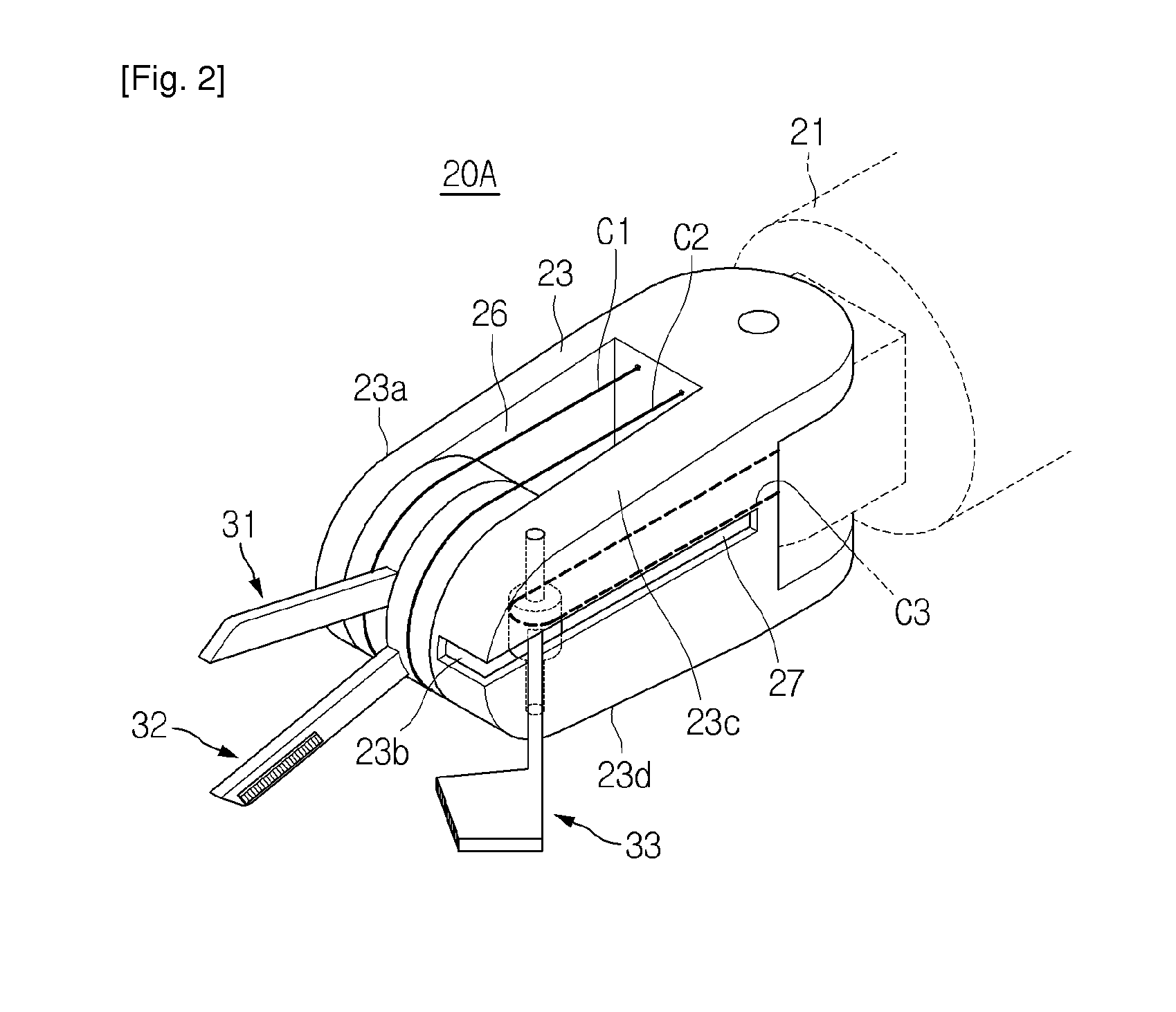 WO2011016640A2 INSTRUMENT OF SURGICAL OPERATION APPARATUS