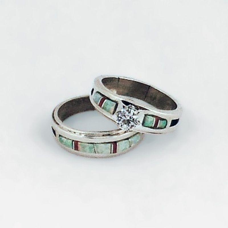 Famousipod Berbagi Informasi Tentang Pertanian Native American Wedding Rings Native American Wedding Ring Sets Turquoise Jewelry Native American