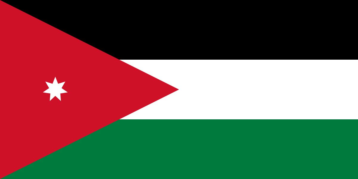 Flag Of Jordan In 2020 Jordanian Flag Jordan Flag Flags Of The World