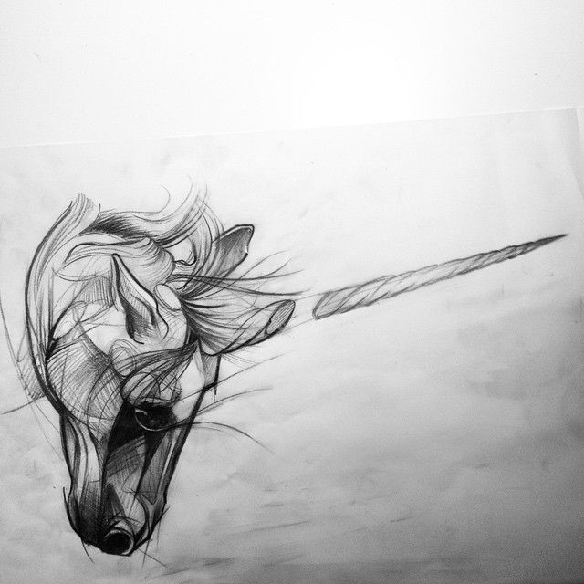 #unicorn #sketch #tattoo #drawing #illustration #graphic #istanbul #ink #berlin #einhorn #dövme